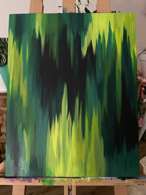 For the peeps who came to the OnlyFans stream earlier... I just finished the canvas that was started