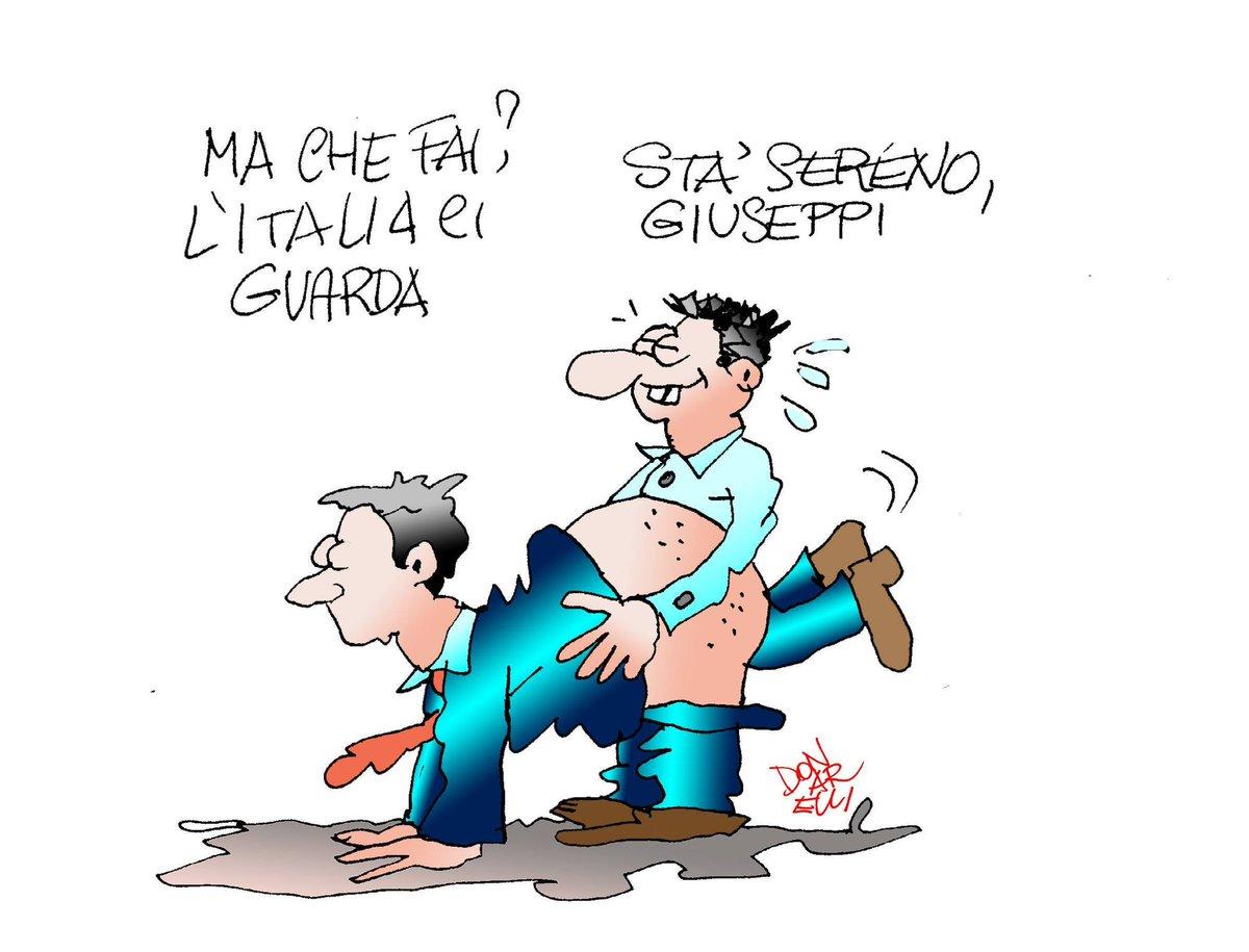 In verità, le prime avvisaglie s'erano già manifestate in finale d'annata  Così Franco Donarelli  #crisidigoverno  #vignettistiperlacostituzione 🇮🇹