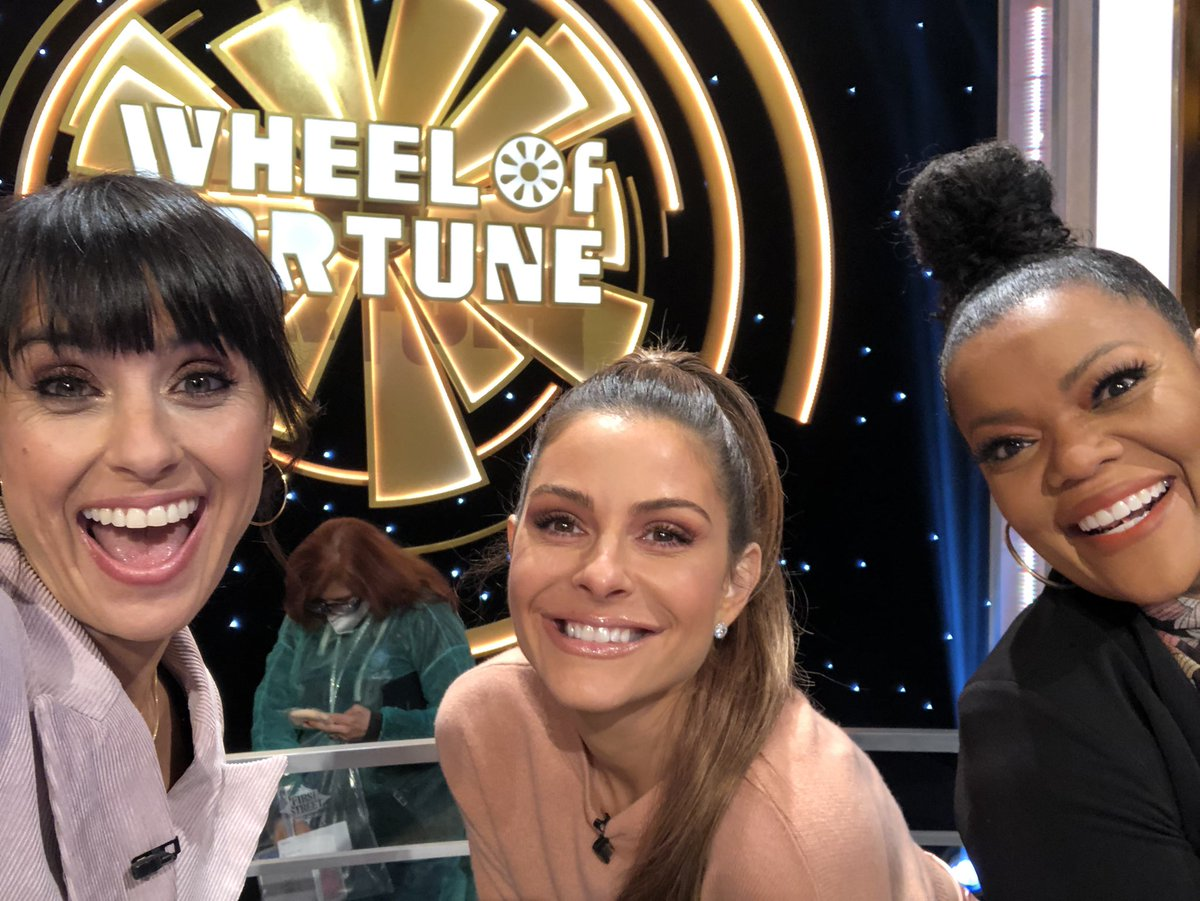 Women dominate on @WheelofFortune on January 28th 8pmPST with @mariamenounos and @YNB! Watch us spin that wheel and have a blast with @patsajak and @TheVannaWhite all for CHARITY!!