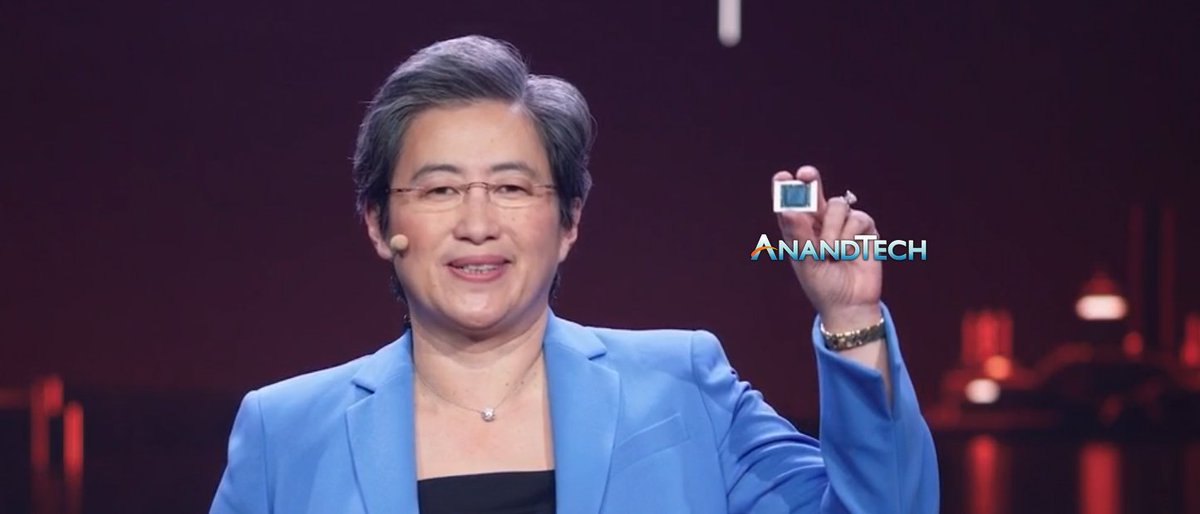 CEO of @AMD, Dr. @LisaSu, spent some time with @IanCutress to discuss the latest @AMDRyzen Mobile #CES2021 announcements, the challenge of deploying products in a high-demand environment, and how AMD plans to grow market share in 2021. anandtech.com/show/16409/amd…