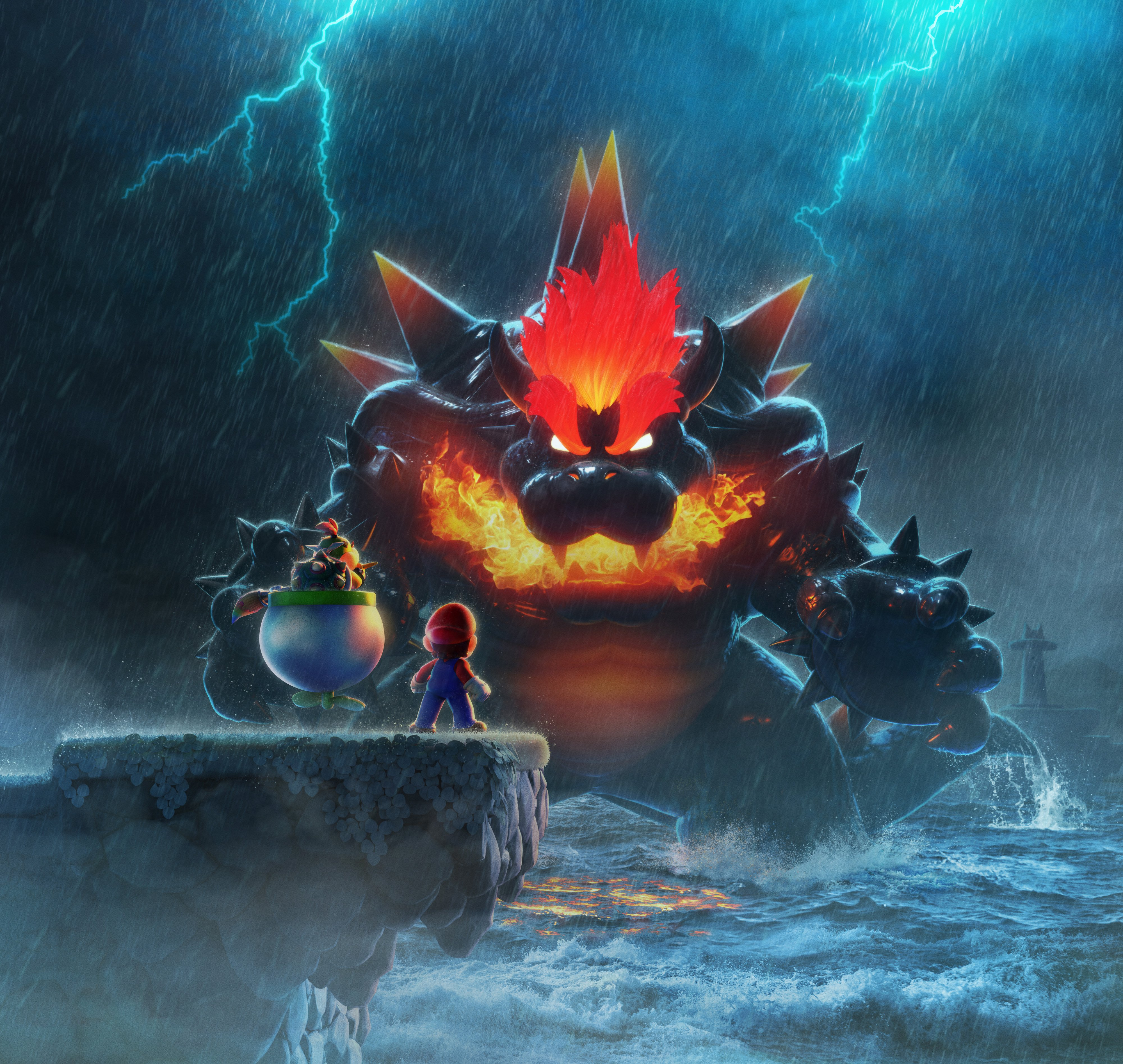 Super Mario 3D World + Bowser's Fury amazing artwork on Paul Gale Network