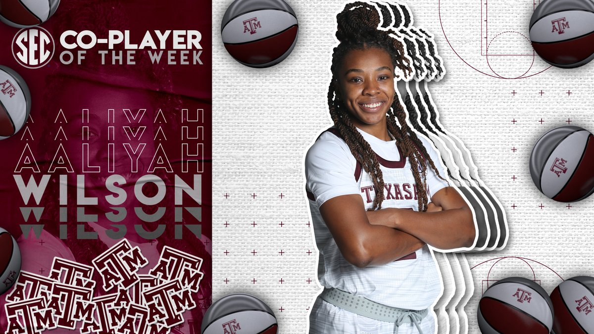 #SECWBB Player of the Week: @aaliwilson2 Full release » bit.ly/38ERcKG.