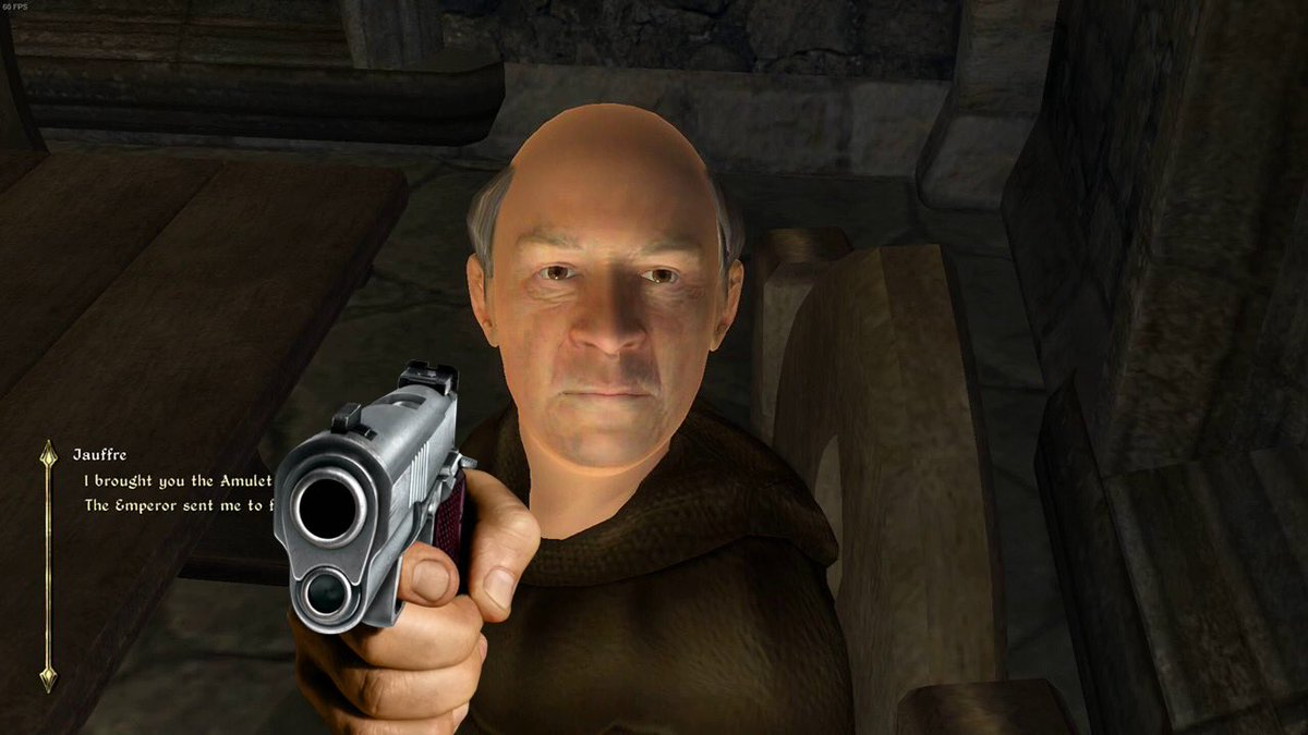 playing more oblivion (with a gun) tonight at 7PM PST   #ENVtuber