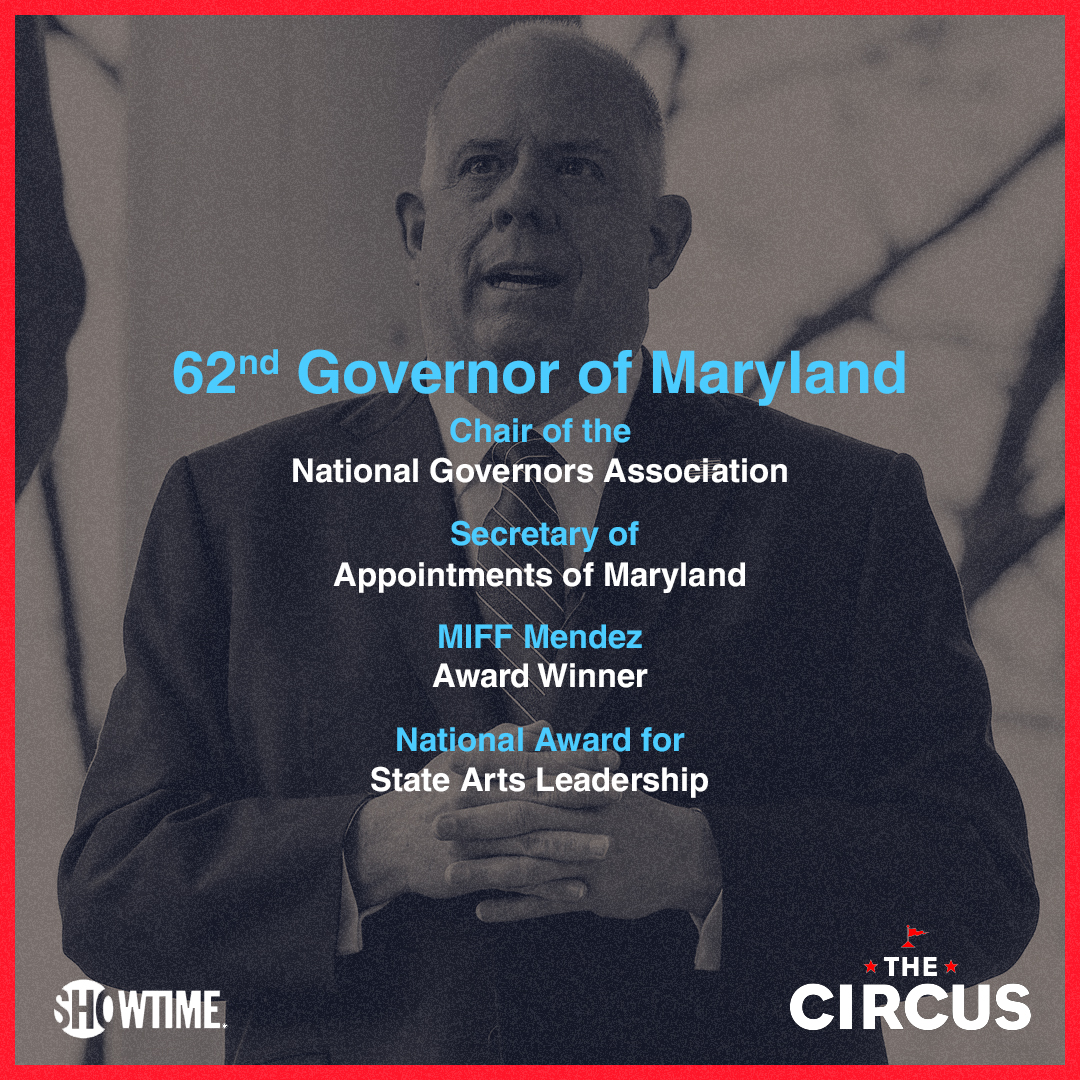 Learn more about interviewee @GovLarryHogan and catch his discussion with @jmpalmieri in Sunday's episode of #TheCircus. Available to stream for free now!