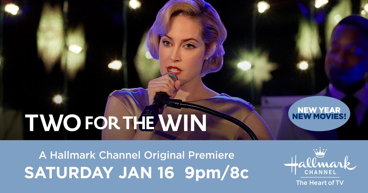 Kayla #CharlotteSullivan is a lady of many talents – can she teach her wayward friend a thing or two? Find out Saturday when the Hallmark Channel Original Premiere #TwoForTheWin airs at 9pm/8c. ❄️