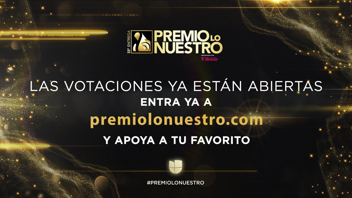 Entra a  y vota YA por tus artistas favoritos. 🤩🔝 #PremioLoNuestro