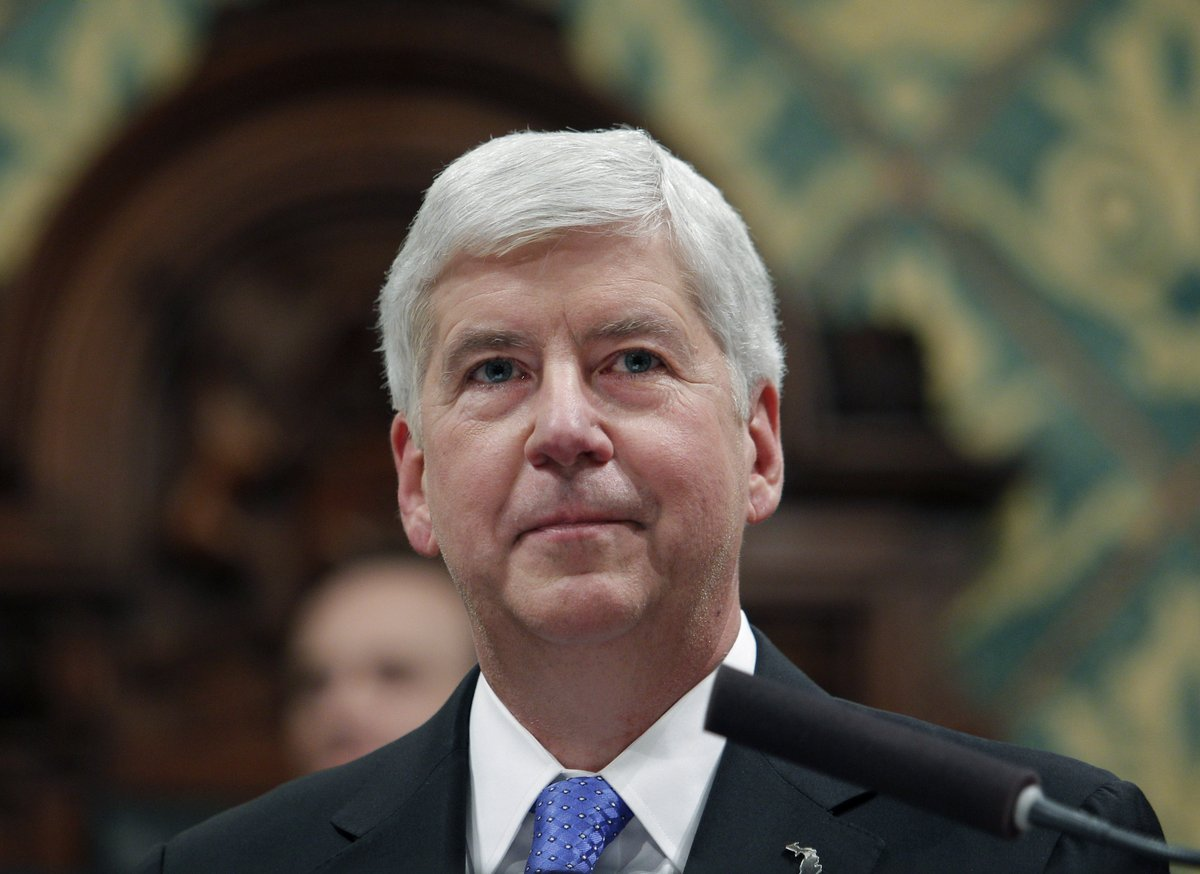 Former Michigan Gov. Rick Snyder to be Charged in Flint Water Crisis