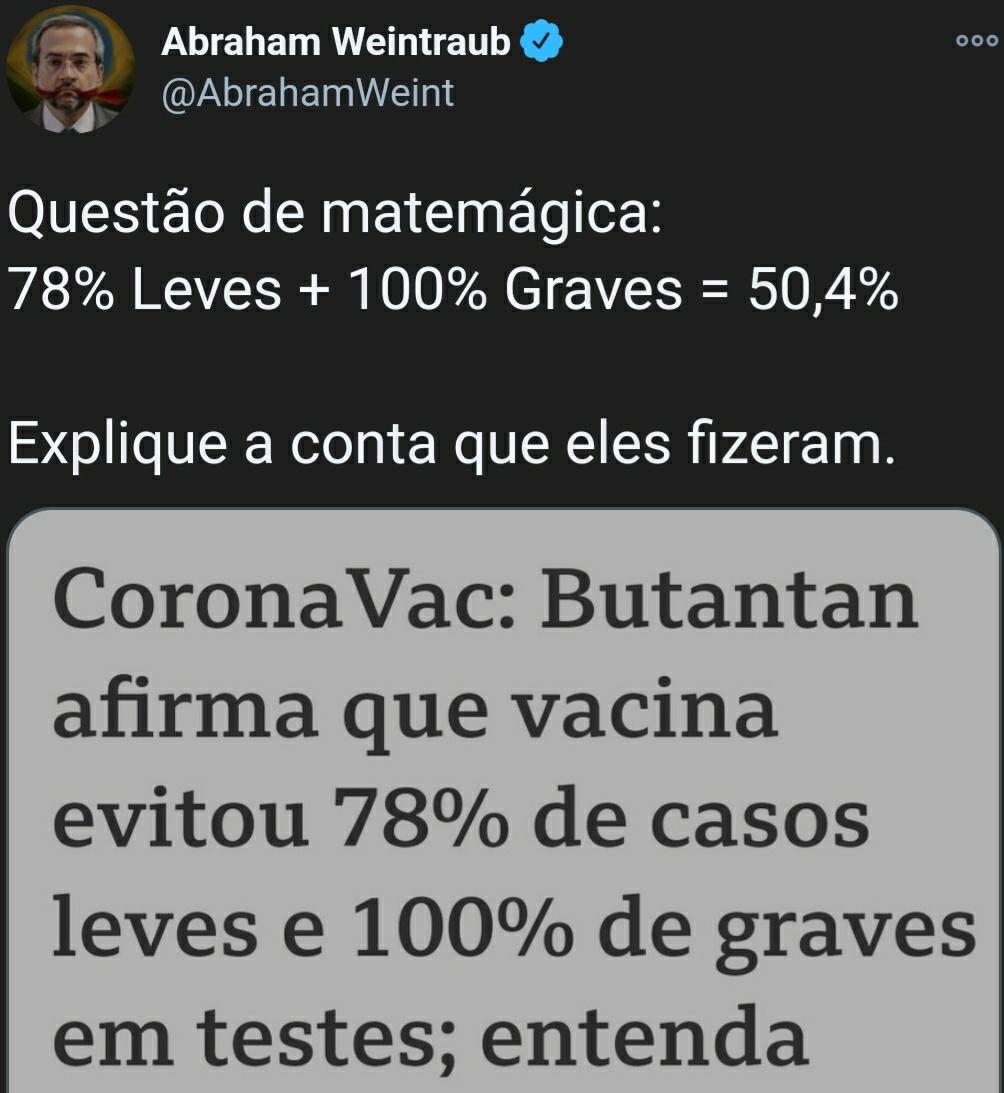 Com vocês, o ex-ministro da EDUCAÇÃO do Brasil.