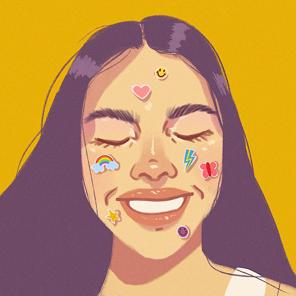been just a little bit obsessed with @Olivia_Rodrigo ⭐️ 🌈 💖 (reference photo by @ashleyosborn)