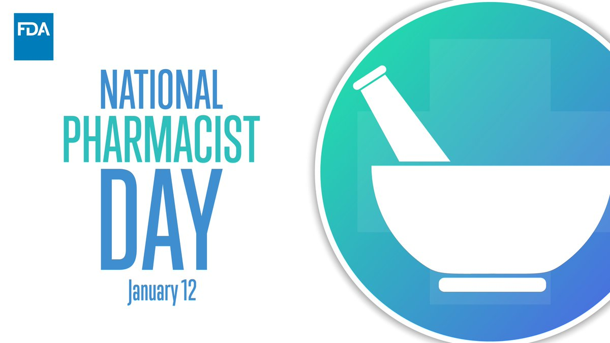 Happy #NationalPharmacistDay! Thank you to our FDA pharmacists and pharmacists across the nation who work tirelessly to keep our communities healthy.