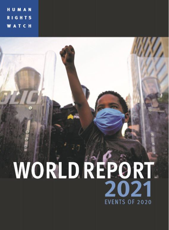 BREAKING news today: @hrw's 2021 World Report, with focus on US and #HumanRights, post-Trump. Must-watch for @JoeBiden & @KamalaHarris.  #Rights2021 live-stream with @KenRoth starts at 12:00 CET / 06:00 EST+ international Sign Language, live captioning:
