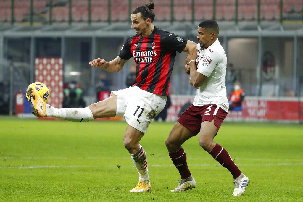 Xem lại bóng đá AC Milan vs Torino, Coppa Italia (13/01)