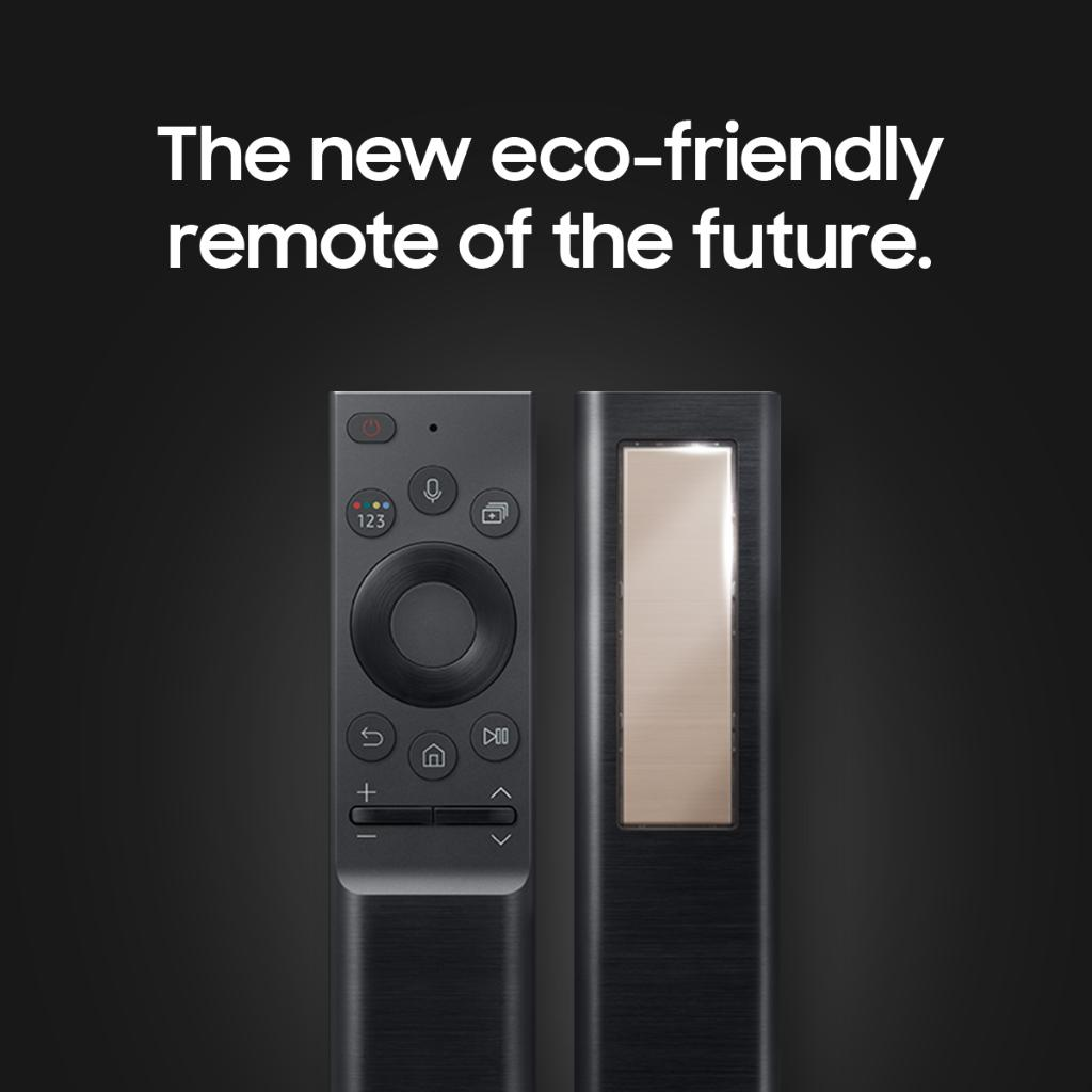 Say bye to disposable batteries. The new Samsung remote charges automatically using ambient light. The future's looking brighter and brighter. #Samsung #CES2021 https://t.co/uQOmEJCFO2