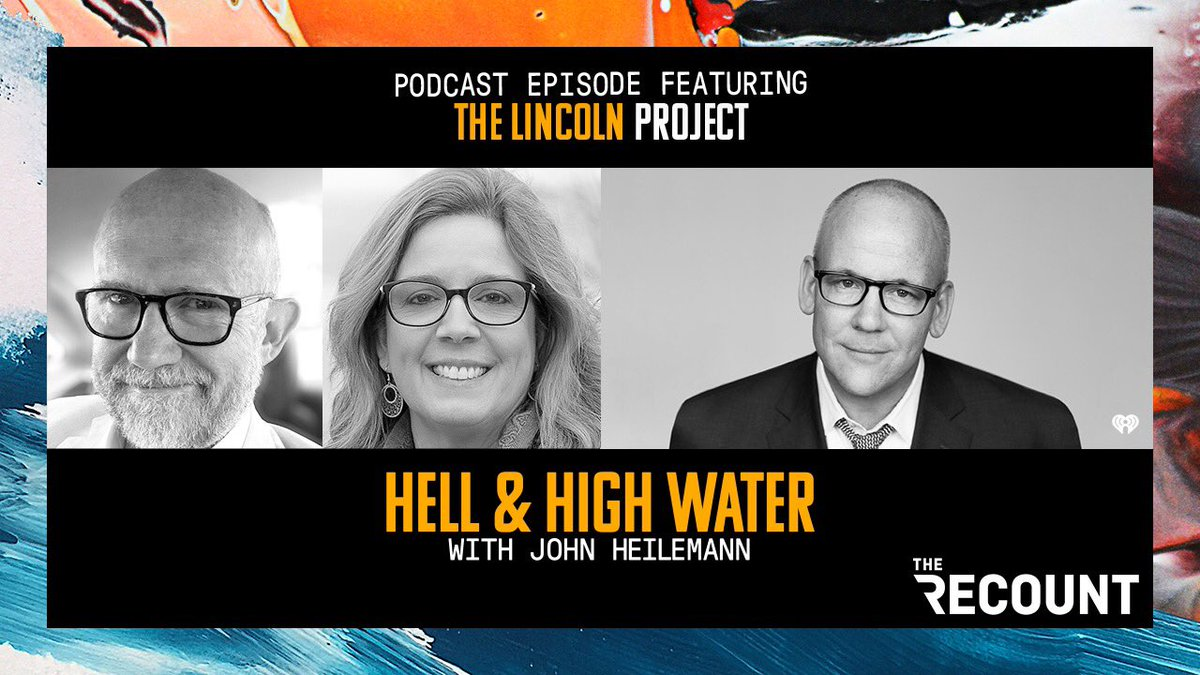New pod alert! A two-part #HHW on the insurrection, the domestic terrorist in the Oval Office, and the clear and present danger he still poses — featuring the #NeverTrump clarity and rage of @ProjectLincoln's @TheRickWilson & @NHJennifer. Get it here: