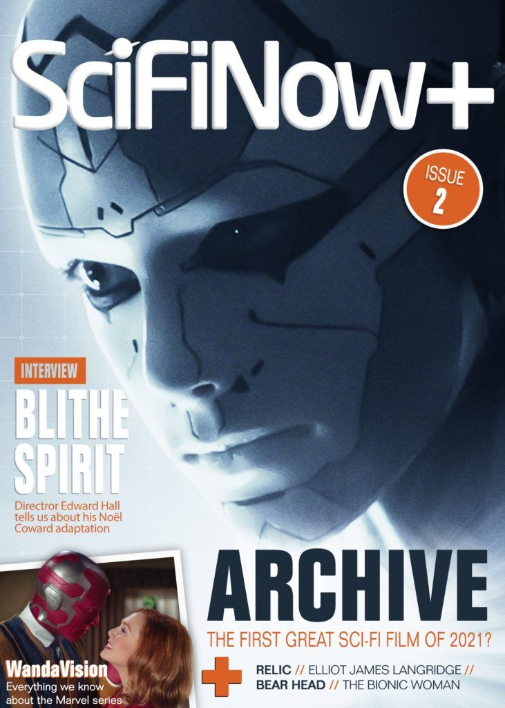 Inside the second issue of  SciFiNow+, discover the latest on #WandaVision, a massive exclusive on the super-smart new sci-fi movie #ArchiveMovie, and a huge retro feature on the 1970s #BionicWoman 🤖