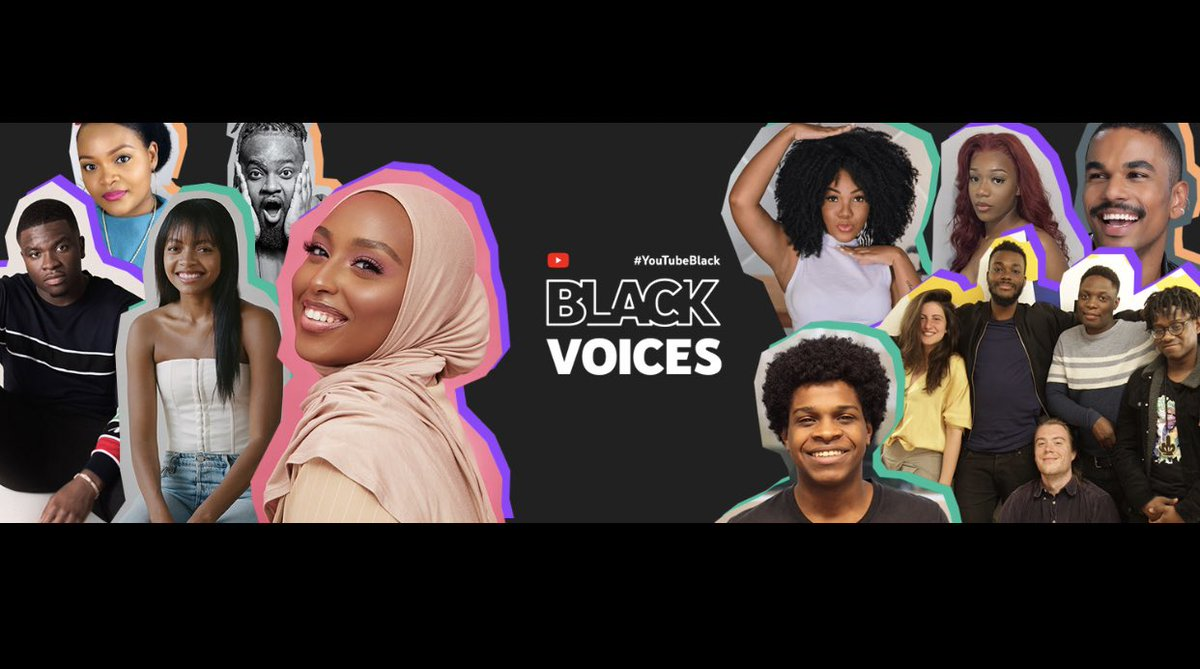 I'm so excited to announce that I'm part of the inaugural #YouTubeBlack Voices class! . Join me as I take you through this beautiful journey! Thank you for subscribing, watching and all the support! https://t.co/ZuMHVaRlzh