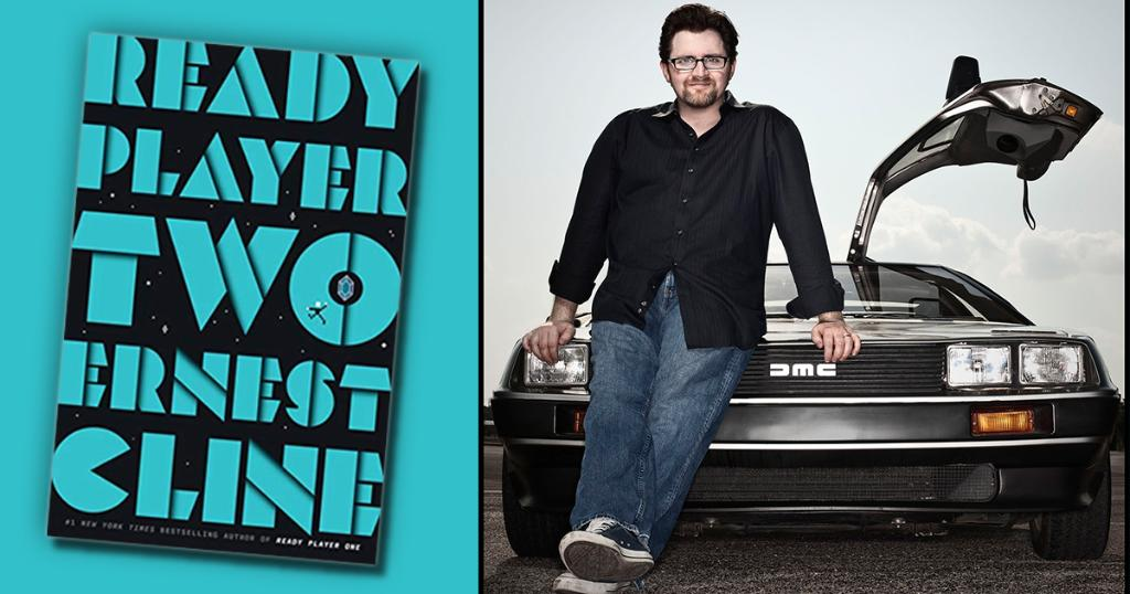 """Another fantastic update byamazonbooks: Ernest Cline talks with us about virtual reality, staying positive, and """"Ready Player Two"""" - https://t.co/PB08l7BUOh https://t.co/0KNns6iut5"""