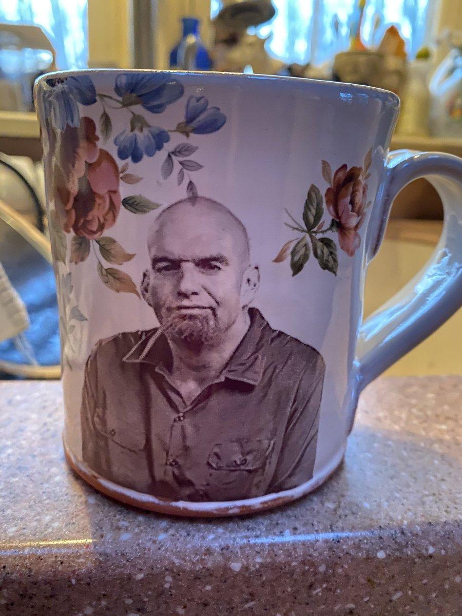 John Fetterman On Twitter That S A A Not So Pretty Mug On A Beautiful Ceramic One