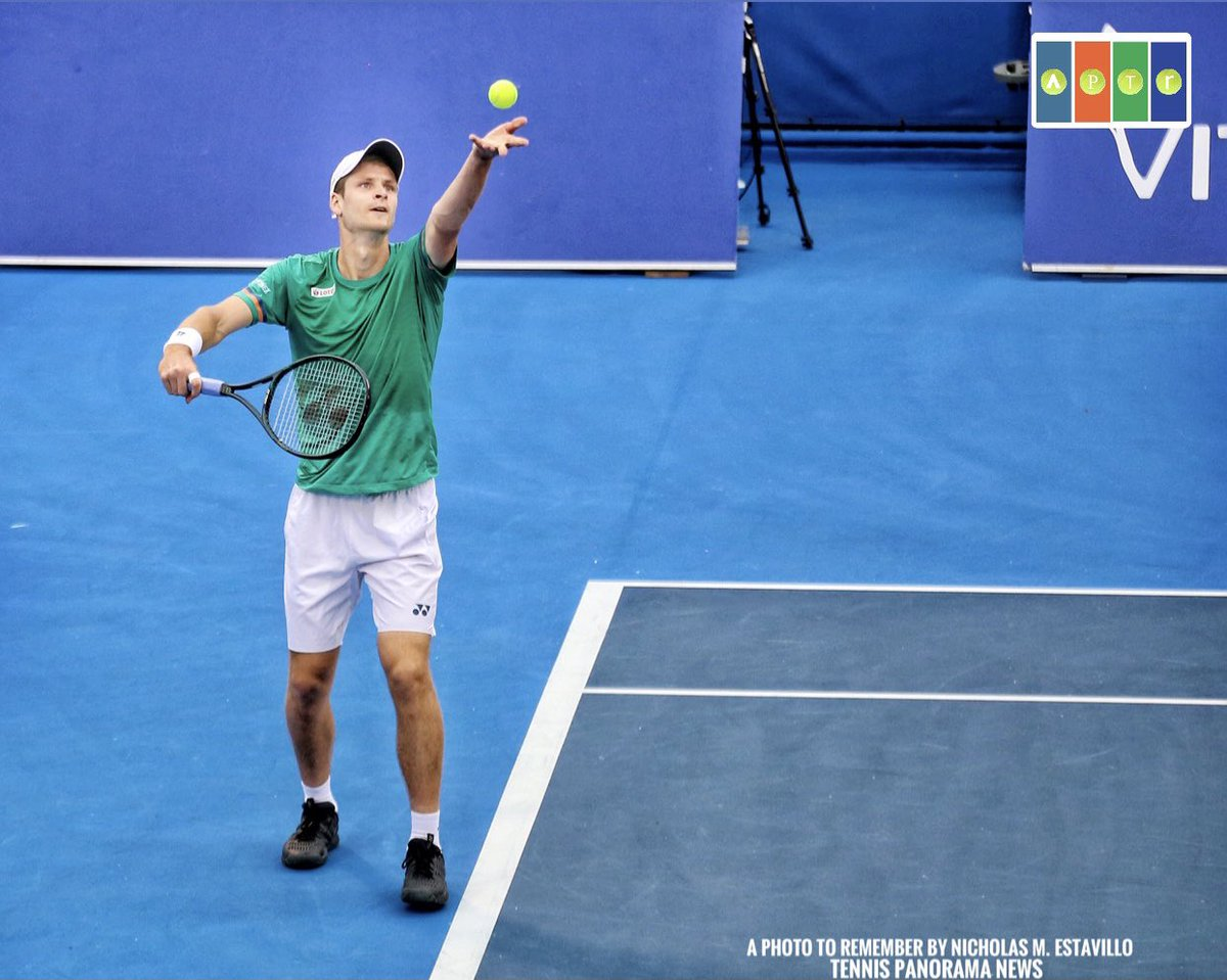 Solid semifinal win for @HubertHurkacz at the 2021 @DelrayBeachOpen, 7-6(4), 6-4, over Harrison.  IG: a_photo_to_remember for pics from the tournament (for @TennisNewsTPN)  #DBOpen2021 #DelrayBeachOpen  #DBOpen #DBO2021 https://t.co/k2K27u2Luz