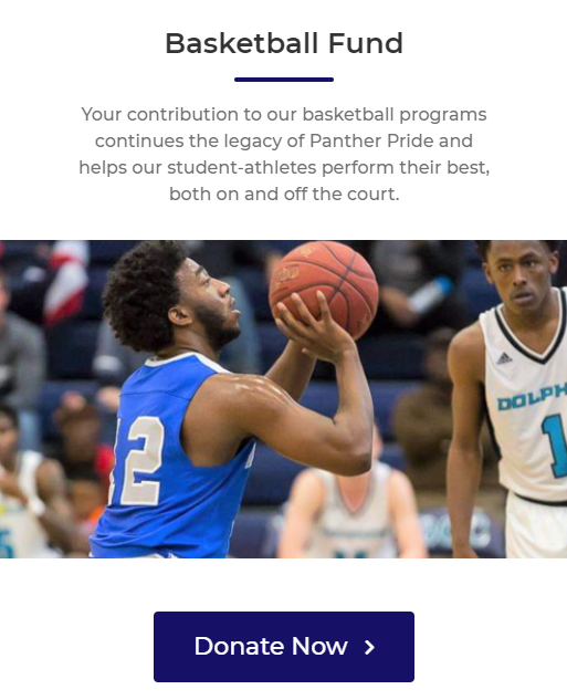 Please consider a gift to our basketball fund and help our student athletes achieve greatness on and off the court.