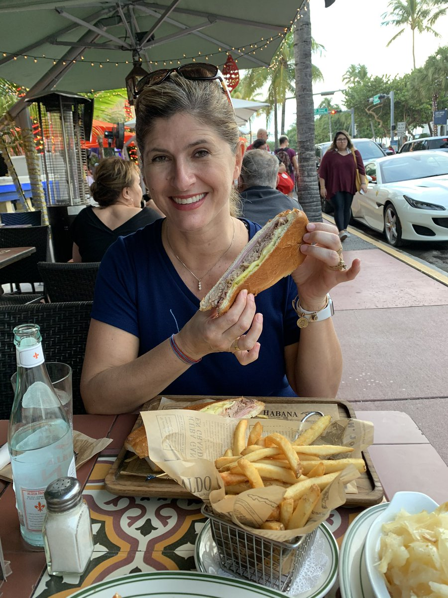 @marcuslemonis @pitbull Yes sir! December 2019 after the @CampingWorld game! Of course had to have a Cuban sandwich! Delicious!!