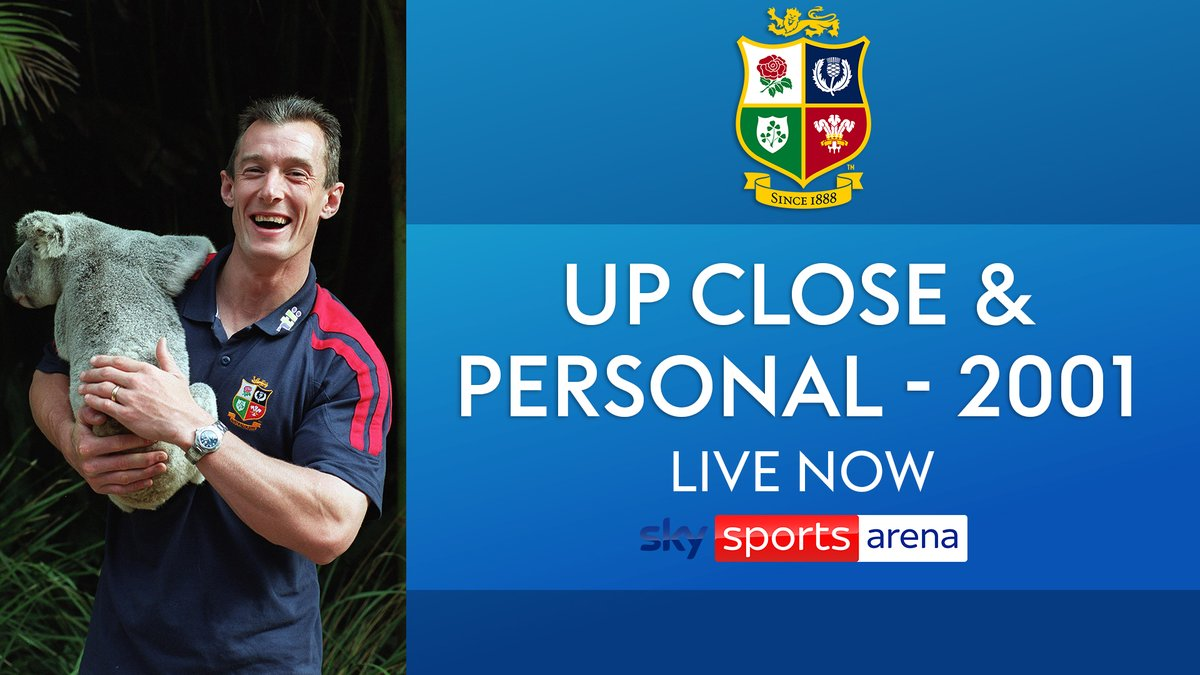 test Twitter Media - Go inside the 2001 @lionsofficial tour to Australia now on Sky Sports Arena 📺  'Up Close and Personal' is live now 🦁 https://t.co/fK1gON22Ao