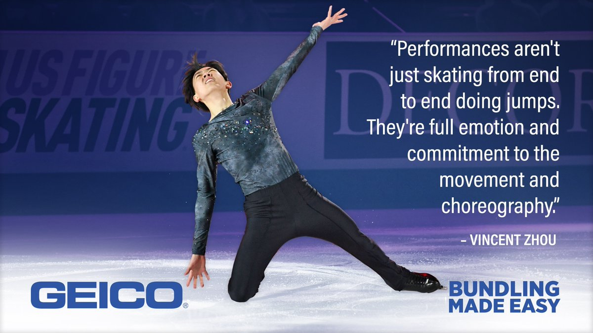 Replying to @USFigureSkating: When it all comes together in a performance, that's Bundling Made Easy! 👏  Presented by @Geico!