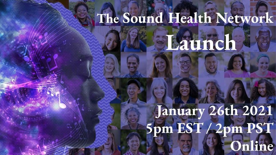Tune in on Jan 26 at 5pm ET to see the launch of the #SoundHealth Network--a partnership between #NIH, @NEAarts, @UCSF, @KenCen & @ReneeFleming to expand our understanding of the connections between music & wellness. Register: