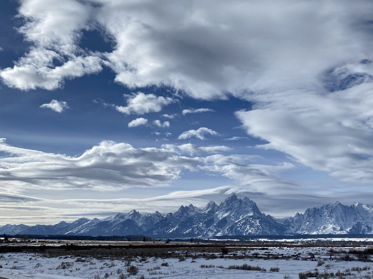 6 miles and some amazing clouds! #runchat #charitymiles #everymilematters #tetons #loveyourwy