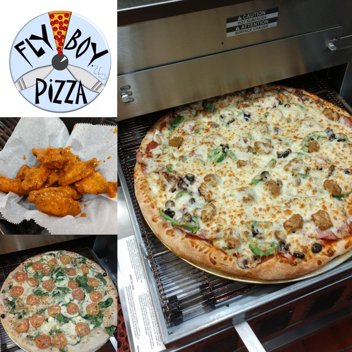Under the direction of Pizza Master Tony Pereira, Flyboy pizza is set to open on Wednesday, January 13th from 11 am -9 pm serving up a fresh selection of pizza creations, salads, and wings!  Check out their Online Menu and ordering here