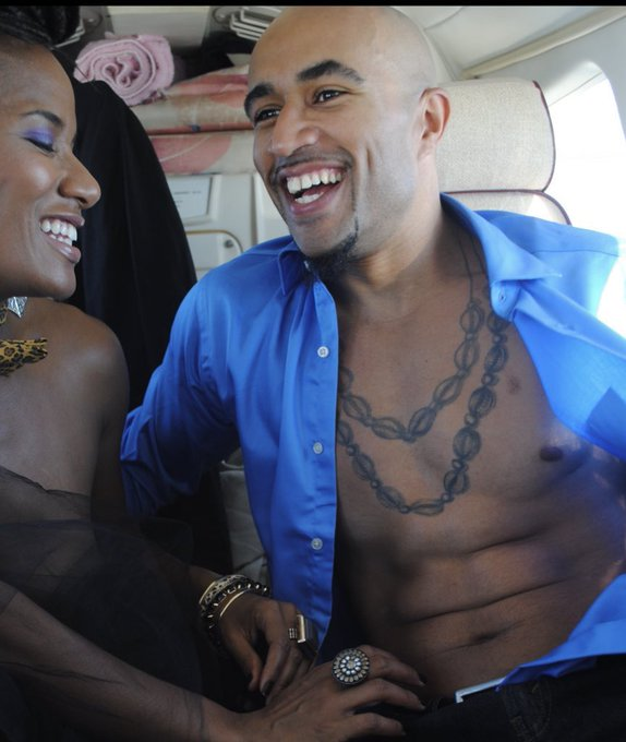 Happy Birthday My Love @KingNoire ! More smiles, laughs and jet-setting ahead ❤️ #Filthy40s #Fit40 https://t