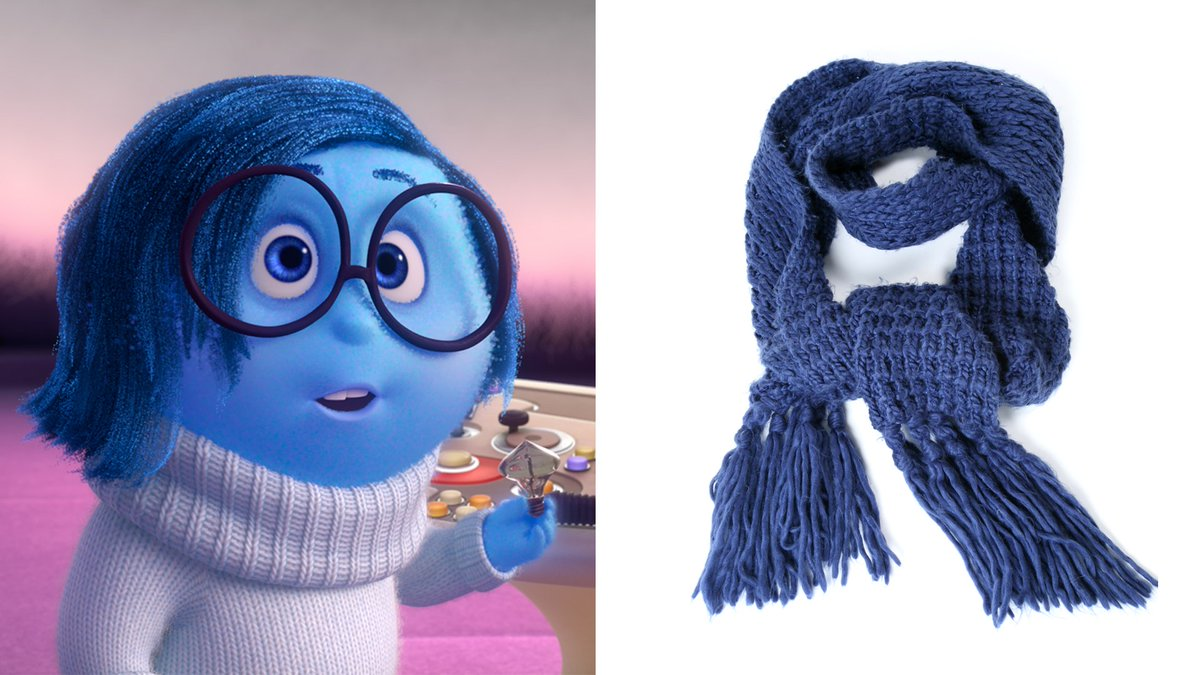 Pixar Characters as Winter Accessories: A Thread