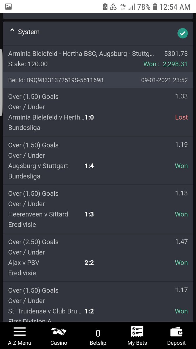 @Bet9jaOfficial Complete my 44k oh...