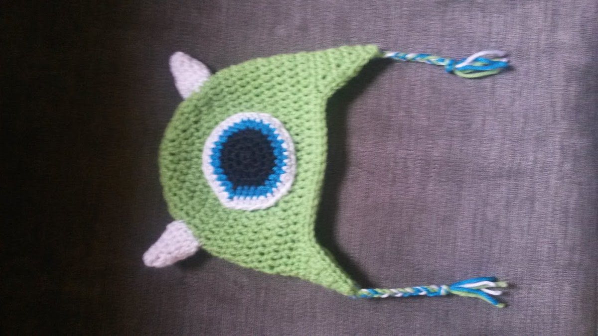 @Pixar One of the first kid's hats I crocheted 6 years ago