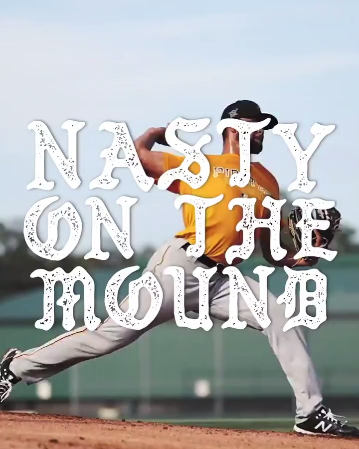 Brennan Malone is nasty on the mound.  @BrennanRMalone x @YoungBucsPIT