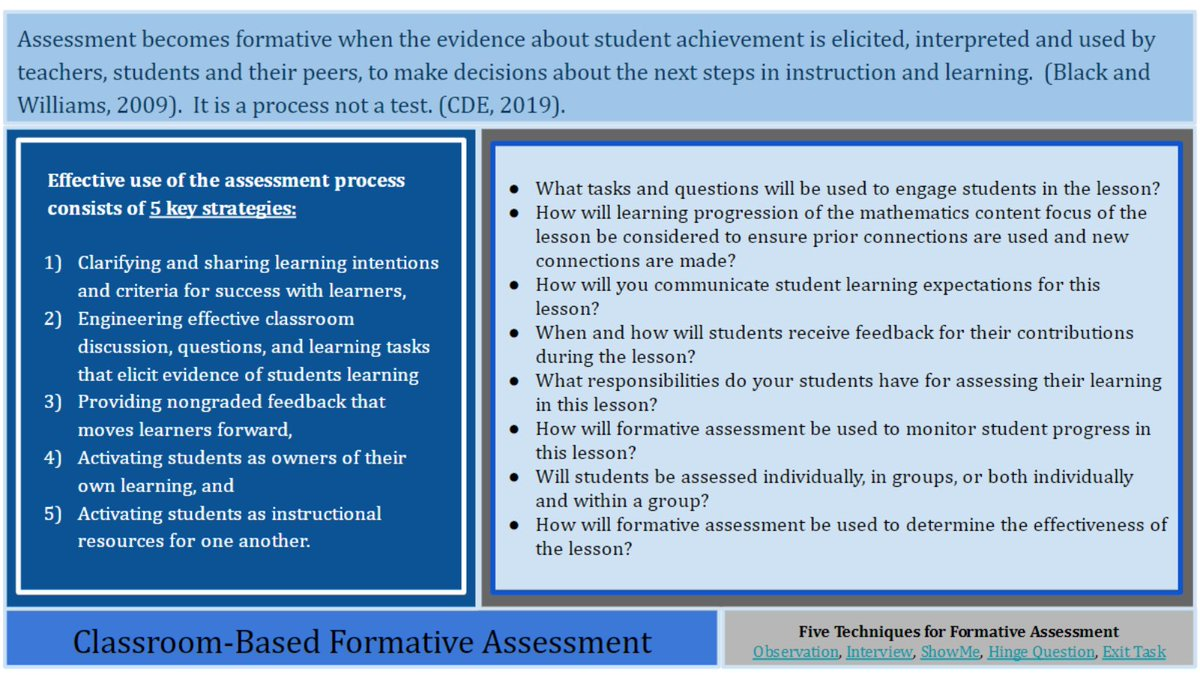 @RX_Math Formative Assessment #RCOEIS #RXMathNetwork #MathEquity