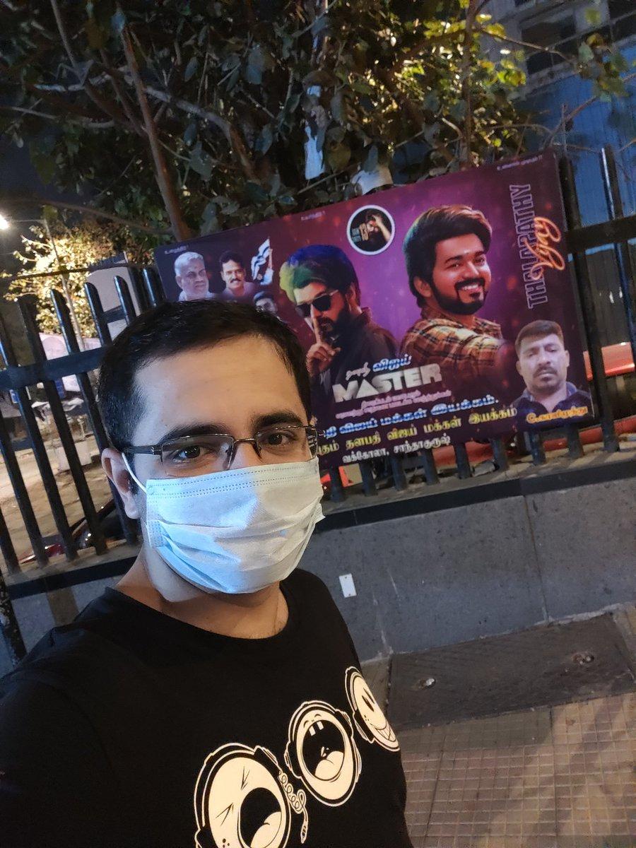#MasterinCinemas #MasterRelease #MasterMania #MasterSelfie #MasterPongal #Mass #ThalapathyVijay #Celebration #CinemasAreBack #Master #ThalapathyVsSethupathi @XBFilmCreators @actorvijay @VijaySethuOffl @Dir_Lokesh