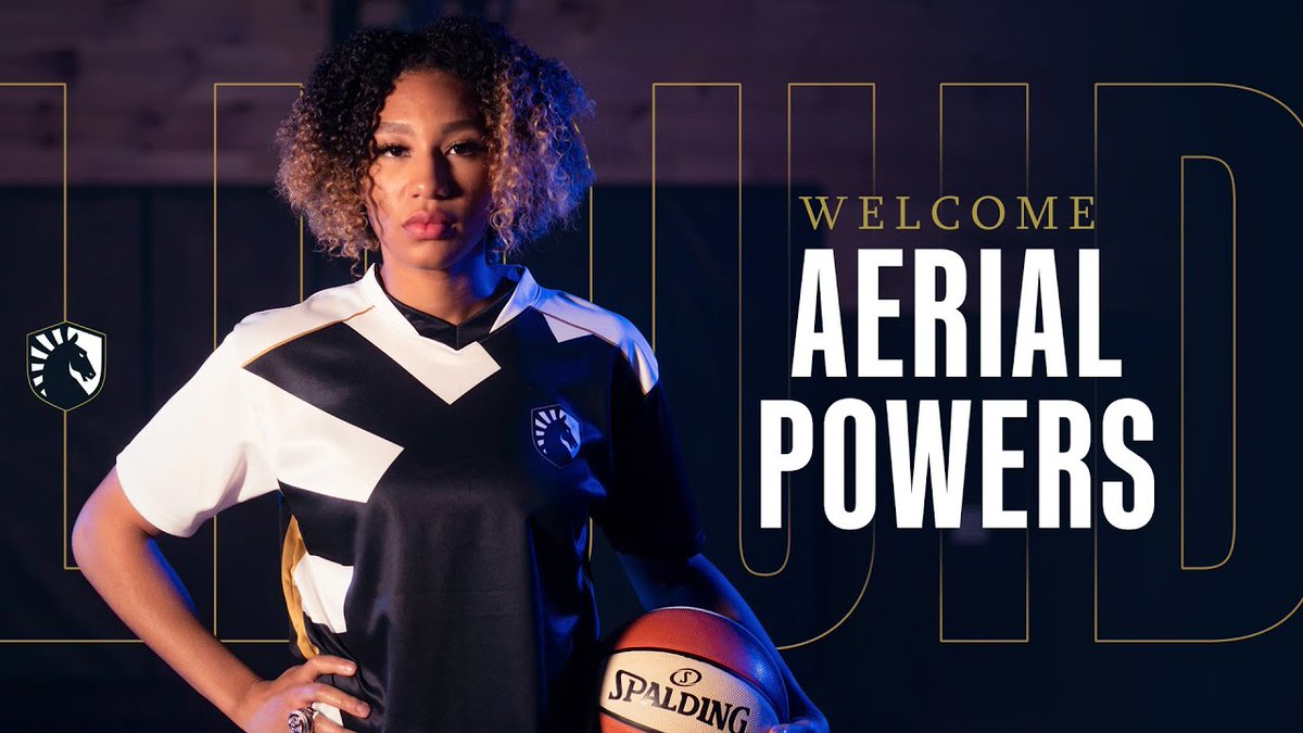Team Liquid - Welcome to Liquid, @aerial_powers23 🏀  Aerial joins us as Brand and Diversity Ambassador 🙌
