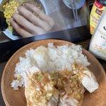 Image for the Tweet beginning: 【不味そう】カオマンガイを作った #俺の料理
