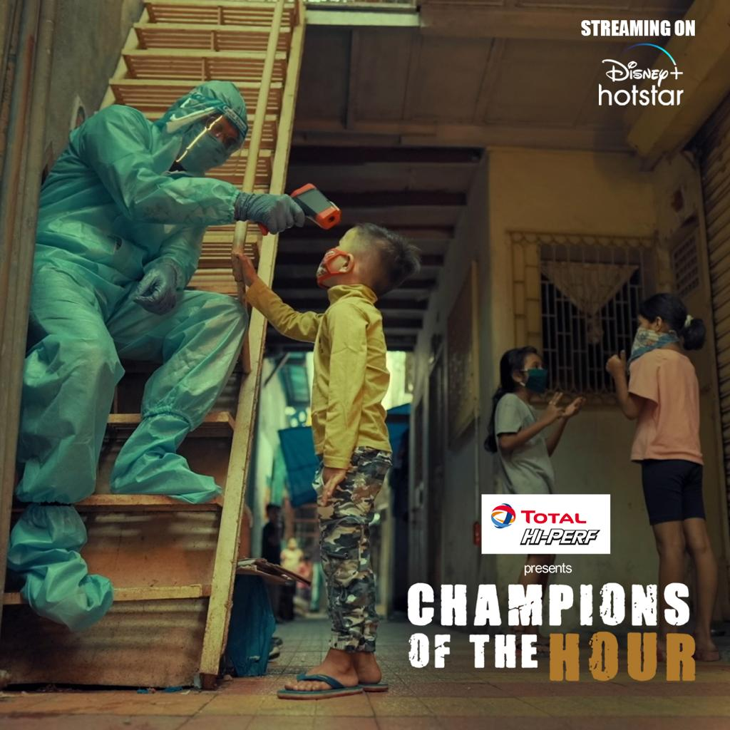 A DJ/Doctor from Mumbai, Sanjay Meriya, went from spinning tunes to saving lives and truly became an engine for change. Check out his inspiring story with me, only on #TotalHiPERF presents #ChampionsOfTheHour, streaming on @DisneyPlusHS  Watch here: