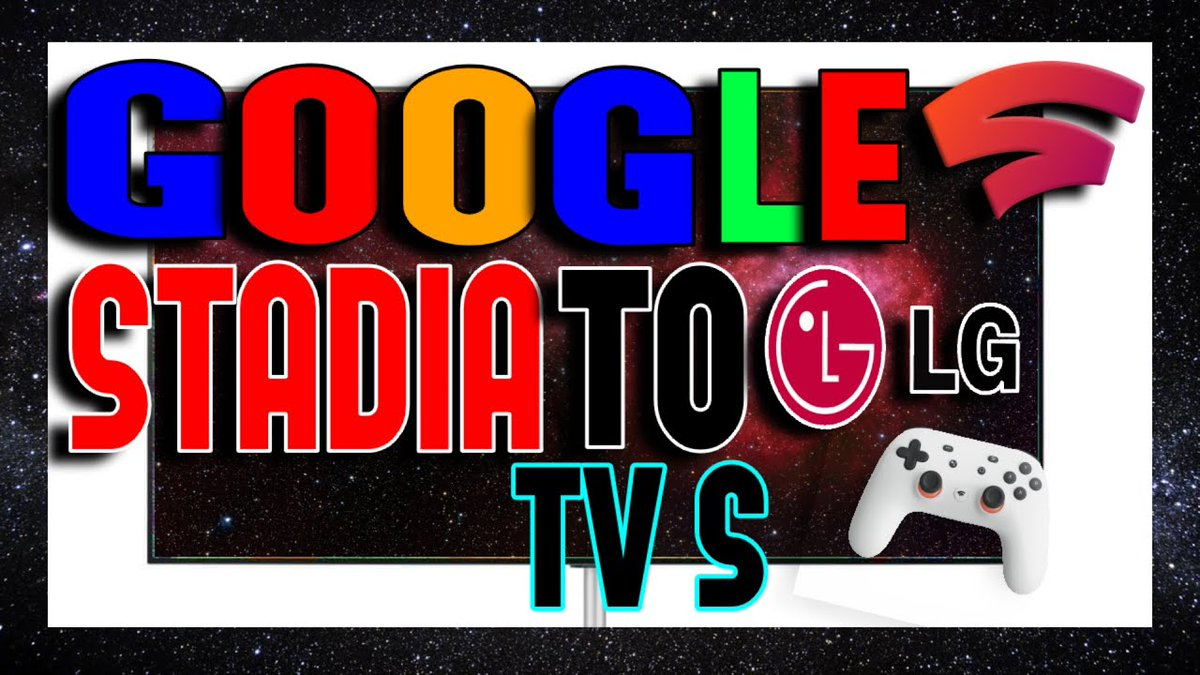 New 🔴 Video.. Google Stadia is really picking up more stream out here.. Now.. Soon it will be available for #LGOLEDTV 2021 Smart TV's without the Chromecast Ultra and soon to be on Chromecast with Google TV. This is getting serious Lol..Link:  #Stadia
