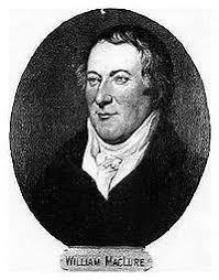 "#OTD #Geology 1809 1st US geology book published by William Maclure, ""father of American geology."" 1796 became fascinated with project of making 1st geologic map travels throughout area east of Mississippi River, crisscrossing Appalachians many times"