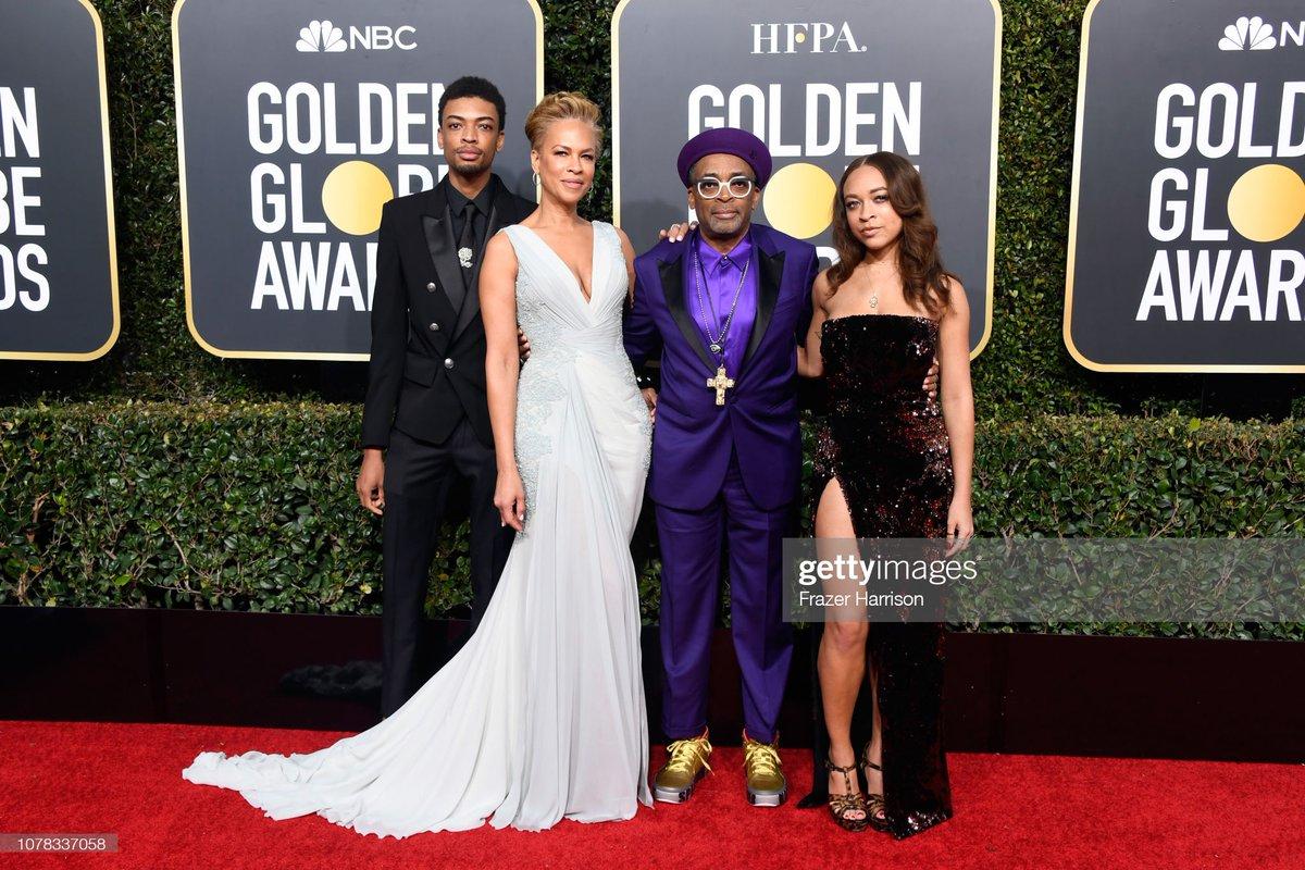 Spike Lee's children, Satchel and Jackson, have been named the 2021 Golden Globe ambassadors. _ Satchel and Jackson seen with Tonya Lewis Lee and Spike Lee at the Golden Globe Awards in 2019.   More 📷 #SatchelLee #JacksonLee 👉 https://t.co/KHznSBjhT9   #SpikeLee #TonyaLewisLee https://t.co/HKnkmfXeA5