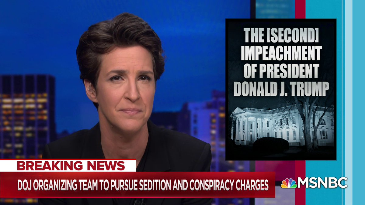 "Maddow to Trump: ""What did you think was going to happen?"""