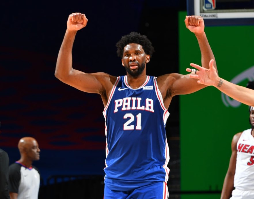 @TheNBACentral's photo on Joel Embiid
