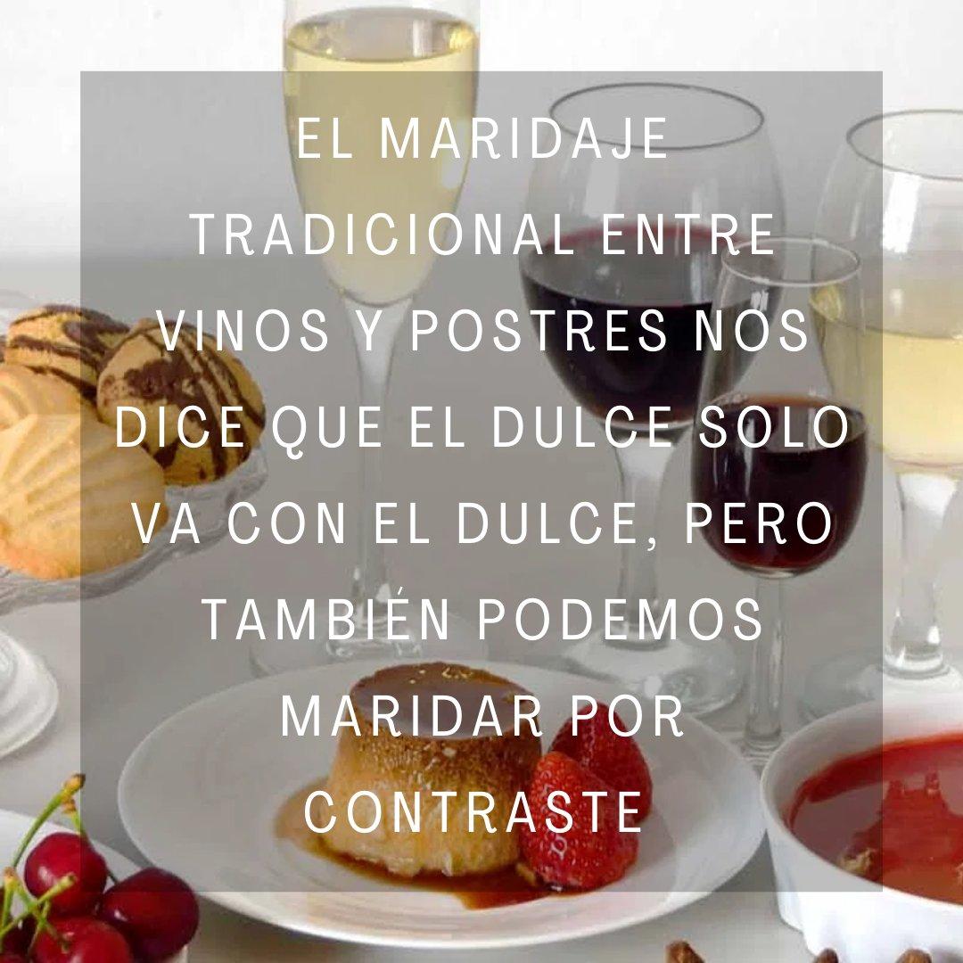 Acidez, intensidad y dulzura, son los tres aspectos que debemos tener en consideración para acompañar los postres con vino.  #vinosdepostre #aspectos #maridaje #acidez #intensidad #dulzura #winelovers #wichowine
