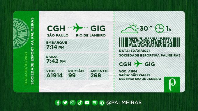🎫✅ Próximo destino: #PorcoInRio! ✈️  #AvantiPalestra #PALxRIV #AlmaECoração