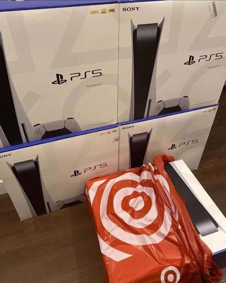@iamwill Brand new sealed ps5's still in the boxes,only message me if you are interested‼️
