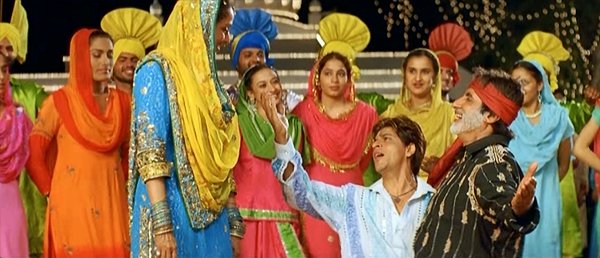 Wishing this harvest season brings happiness and prosperity to you and your family with the best song ever made on #Lohri. #HappyLohri2021   How many of you identify this Movie and Song ? @iamsrk @realpreityzinta @SrBachchan
