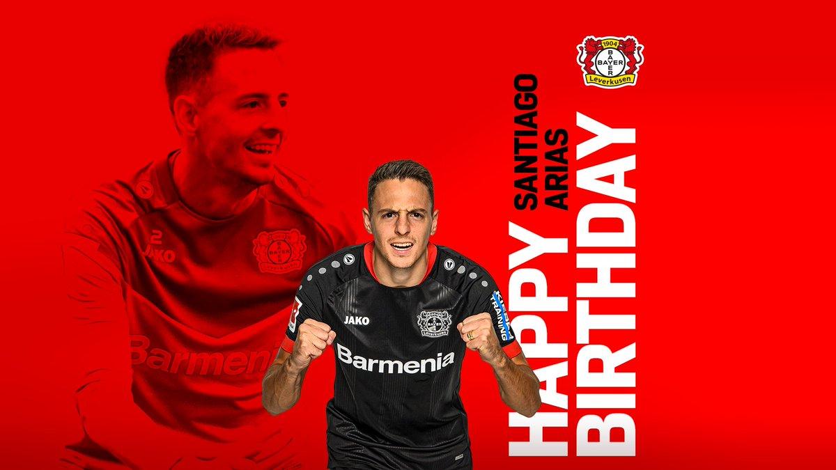 Replying to @bayer04_en: Happy Birthday @santiagoarias13! 🎊